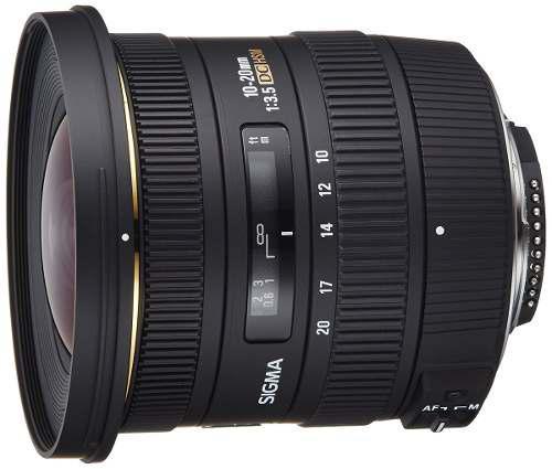 Lente Cámara Digital Sigma 202306 10-20mm Nikon Slr