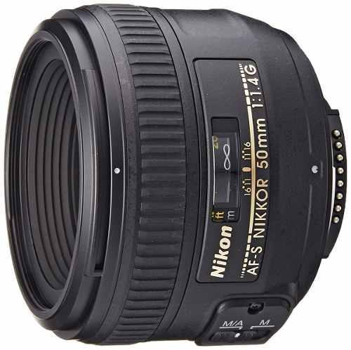 Lente Nikon 50mm F/ 1.4g Af-s Nikkor Fx Dx Reflex Slr D-slrs