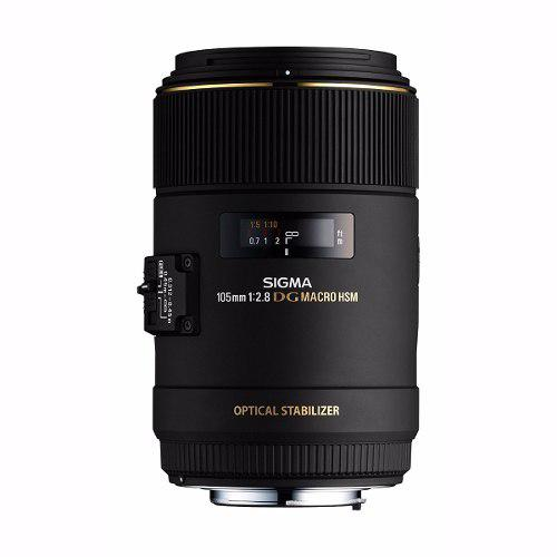 Lente Sigma 105mm F2.8 Ex Dg Os Hsm Macro Para Canon Slr