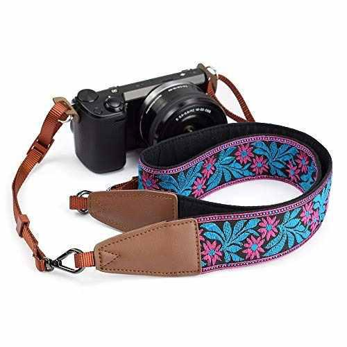 Lifemate Camera Strap Shoulder Neck Belt For All Slr/dslr (p