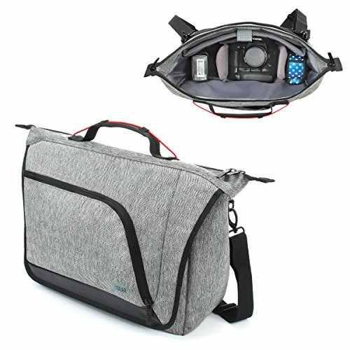 Messenger Camera Bag For Dslr / Slr By Usa Gear With Customi