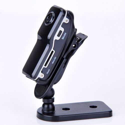 Mini Camara Espia Dv Clip Para Casco Motociclismo Seguridad