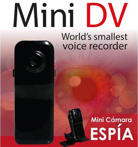 Mini Camara Espia Dv Video Compacto Hd Accesorios Moto Bici