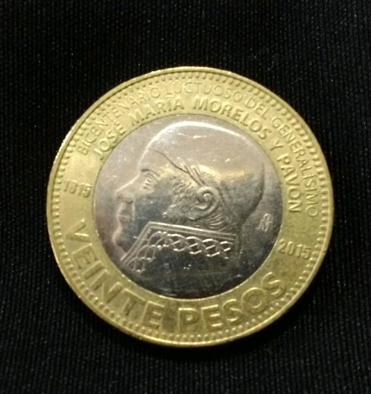 Monedas de colección de $20