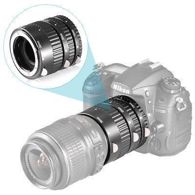 Neewer 3pcs Macro Extension Tube Set Para Nikon D-slr Af Af