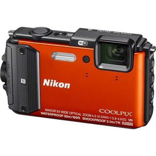 Nikon Coolpix Aw130 16 Cámara Digital Resistente Al Agua De