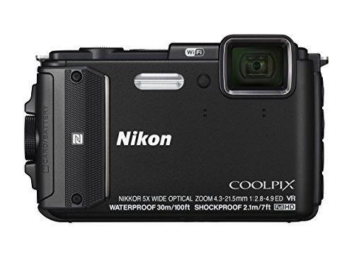 Nikon Coolpix Aw130 Impermeable Digital Cámara Con Construi