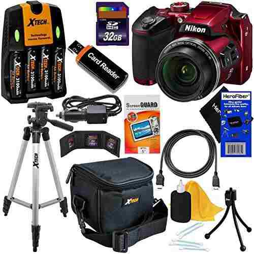 Nikon Coolpix B500 Wi Fi, Cámara Digital Nfc W Zoom 40x Y V