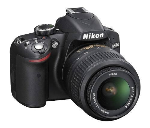 Nikon D3200 24.2 Mp Cmos Digital Slr With 18-55mm F/3.5-5.6