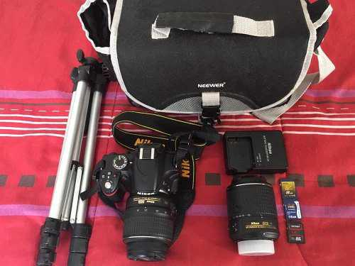 Nikon D3200 24.2 Píxeles Cámara Slr Como Nueva