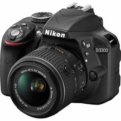Nikon D3300 24.2 Mp Cmos Digital Slr Con Auto Foco - S Dx Ni