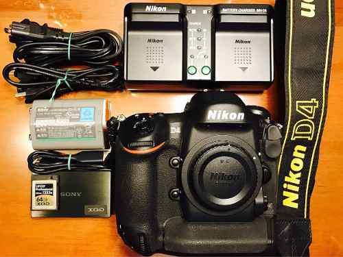 Nikon D4 Digital Slr Camera (cuerpo)