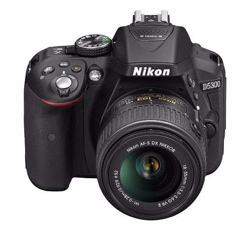 Nikon D5300 24.2 Mp Cmos Digital Slr Camera Con Lente 18-55m