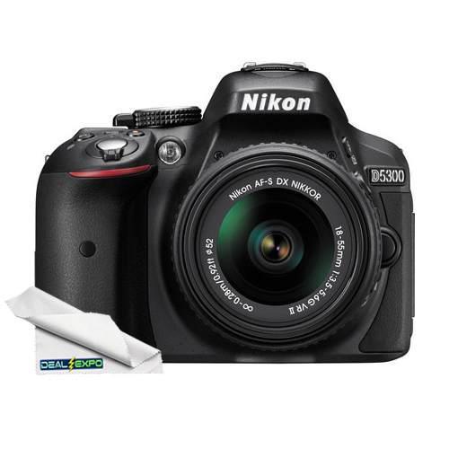 Nikon D5300 24.2 Mp Digital Slr Cámara Con Lente De 18-55mm
