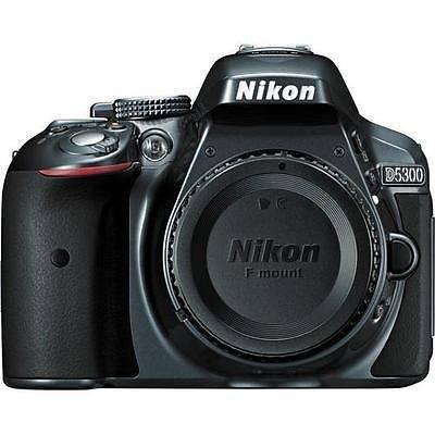 Nikon D5300 24.2 Mp Digital Slr Cámara - Gris (sólo