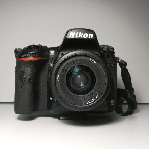 Nikon D750 Cuerpo Con Lente Nikkor 35 Mm F2