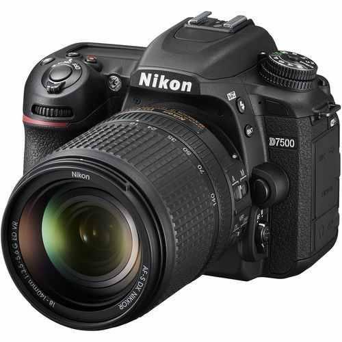 Nikon D7500 Digital Slr Camera 3 Lens: 18-140mm Vr