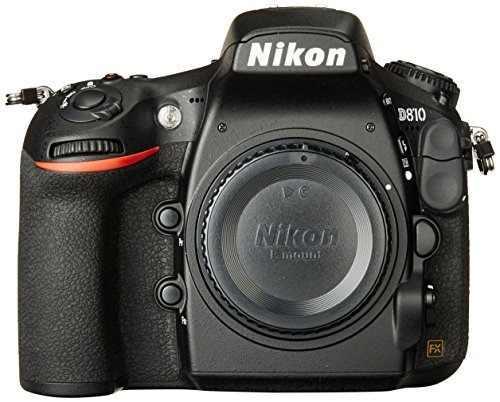 Nikon D810 Fx-format Digital Slr Cuerpo De La Cámara