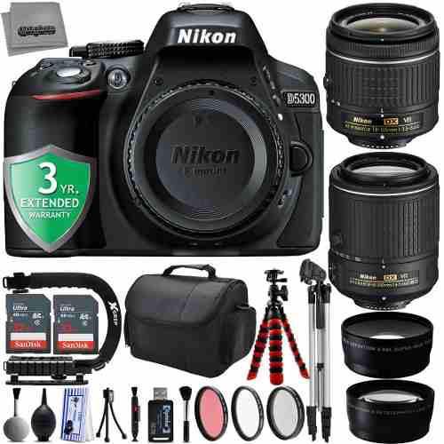Paquete Nikon D5300 24.2mp Cámara Digital Slr
