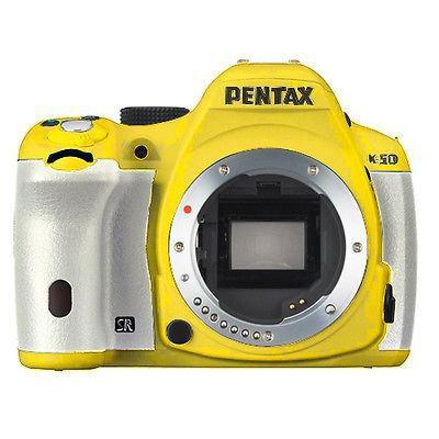 Pentax K-50 16mp Digital Slr Cámara Con Pantalla Lcd De 3