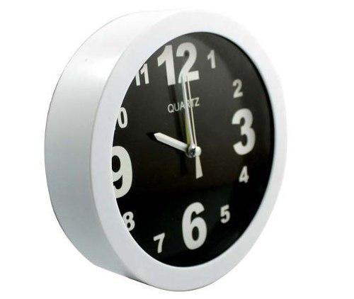 Reloj Pared Espía Cámara Hd Oculta 8gb Usb - T914