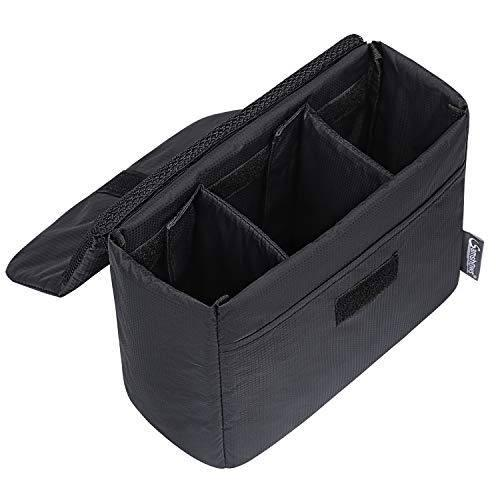 Samshows Shockproof Waterproof Dslr Slr Camera Insert Bag Sm