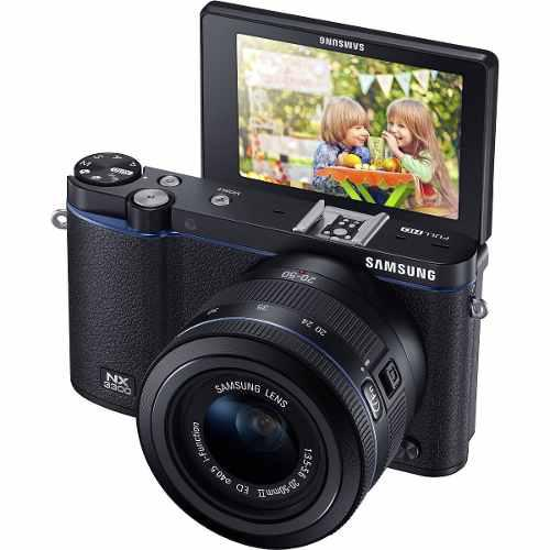 Samsung Nx3300 Cámara Digital Sin Espejo Con 20 Lentes De 5