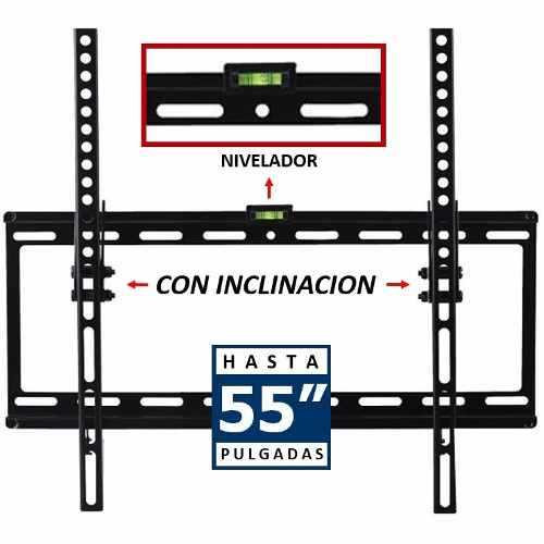 Soporte De Pared Fijo Base Pantalla Tv 32 A 55 Pulgadas O6 B