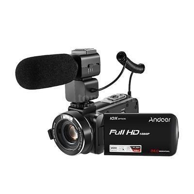 Videocámara Con Cámara Vídeo Digital Andoer 1080p Complet