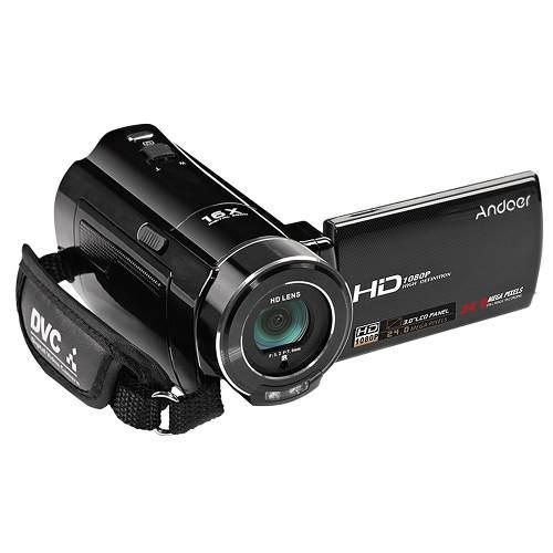 Videocámara Con Cámara Vídeo Digital Completo Hd Andoer H