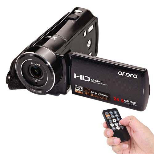 Videocámara Con Cámara Vídeo Digital Completo Hd Ordro Hd
