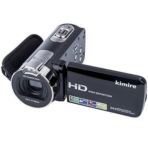 Videocámaras Cámara Digital Kimire Hd Recorder 1080p 24 Mp