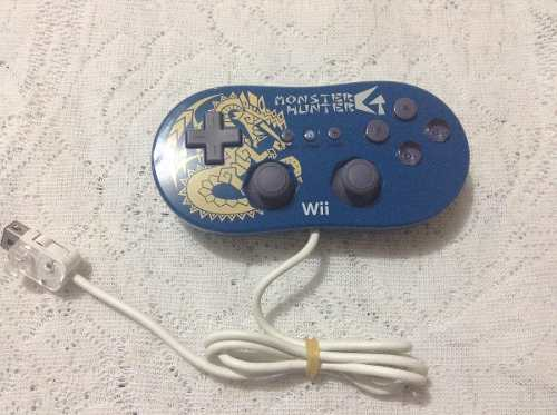 Wii Control Edicion Especial Monster Hunter (no Mario,zelda)