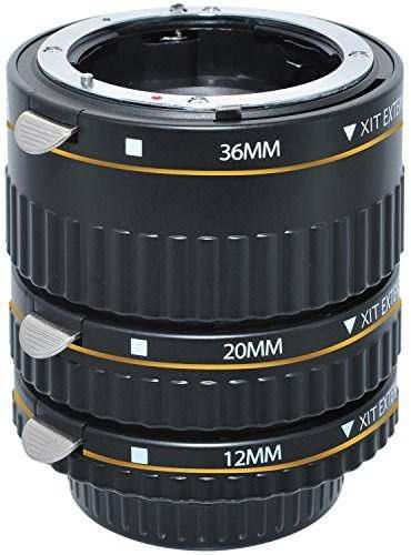 Xit Xtetn Auto Focus Macro Extension Tube Set For Nikon Slr