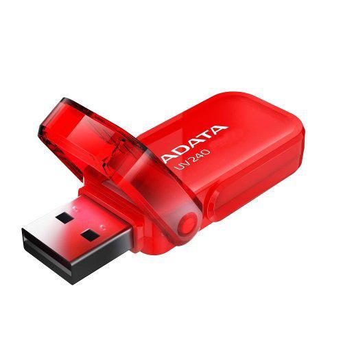 Adata Uv240 Memoria Usb,16gb, Usb 2.0, Rojo
