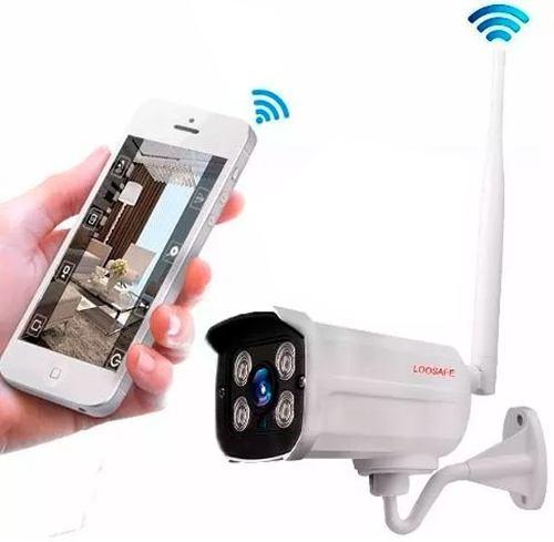 Camara Exterior Ip Vision Nocturna App Keye Nueva Base