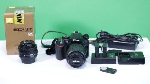 Camara Nikon D & Lente 35mm F1.8 & Accesorios