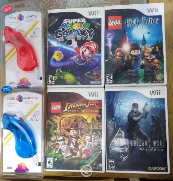 Control nunchuk y juegos Wii