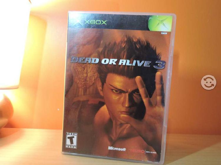 Dead Or Alive 3 Para Xbox Compatible Con 360 Prime