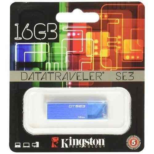 Lote 10 Memorias Usb 16gb Kingston 16se3 Envio Gratis