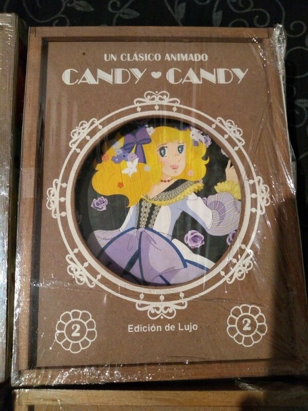 Serie candy candy edición de lujo completa
