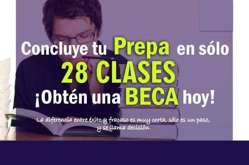 TERMINA TU PREPA EN 28 CLASES