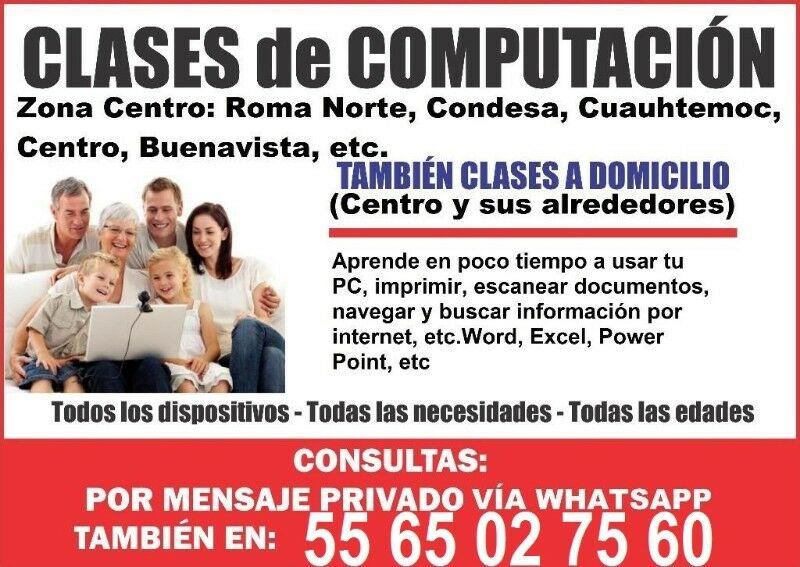 Curso de excel para empresas a domicilio, CDMX