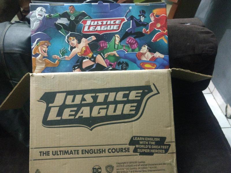 Curso de ingles la liga de la justicia