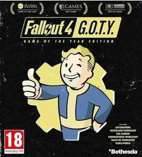 Fallout 4 Edicion Juego Del Año + Expansiones Magm
