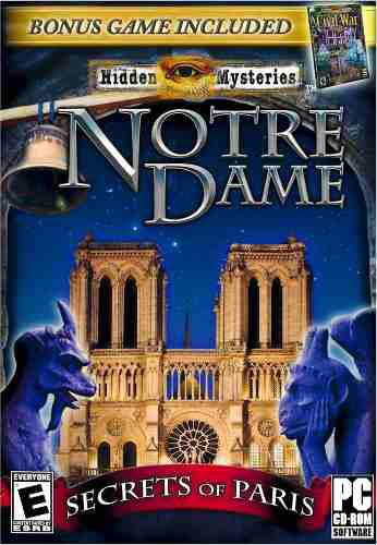 Hidden Mystery Notre Dame Y Civil War Juego P/ Pc 2 En 1 Vv4
