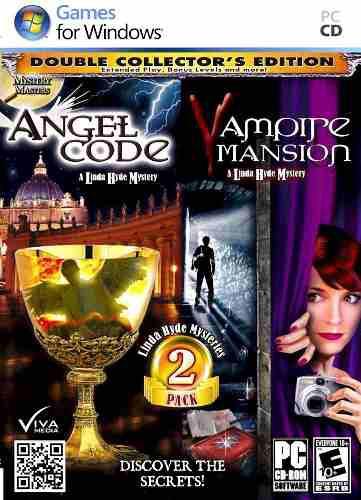 Juego P/ Computadora 2 En 1 Angel Code Y Vampire Mansion Vv4