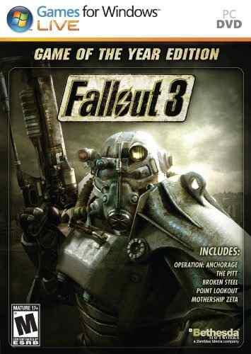 Juegos,fallout 3 Juego De La Edición Del Año (pc)