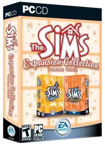 Juegos,la Colección De Expansión De Los Sims Volumen 3 S..