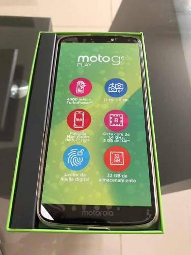 Motorola Motog6 32gb Nuevo, Súper Precio